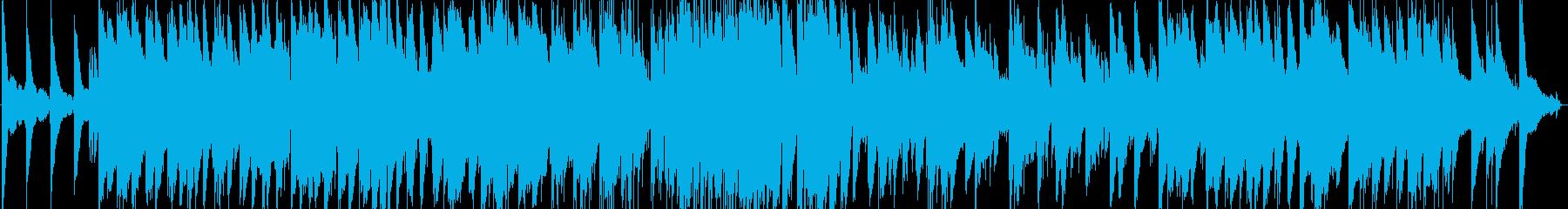 ゆったりとしたバラード風ピアノトリオの再生済みの波形