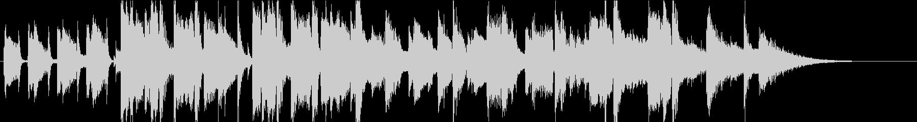CMやジングルにあうジャズ曲の未再生の波形
