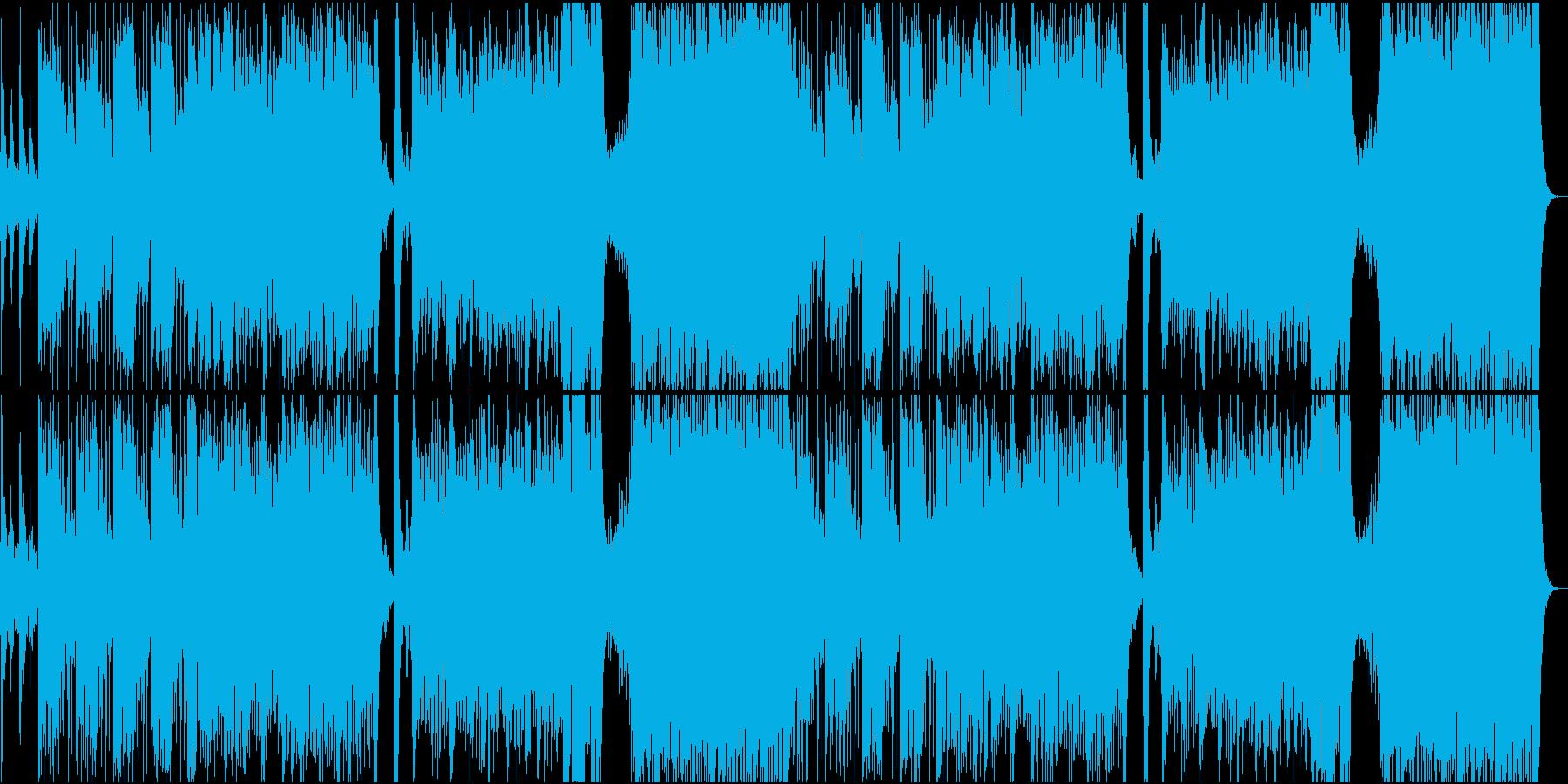 和オーケストラ_威圧的の再生済みの波形