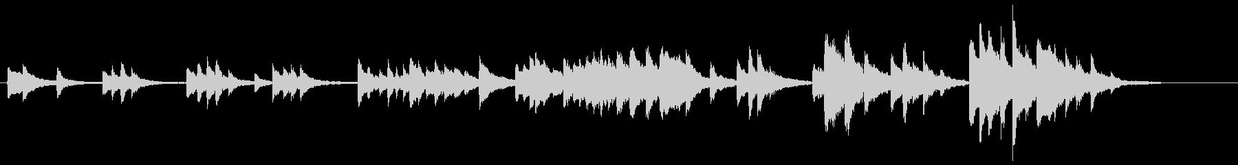 ドビュッシー「月の光」前半部分(ホール)の未再生の波形