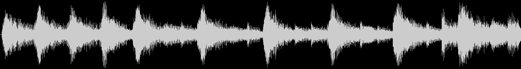 ハローウィン用のホラー曲-ループ5の未再生の波形