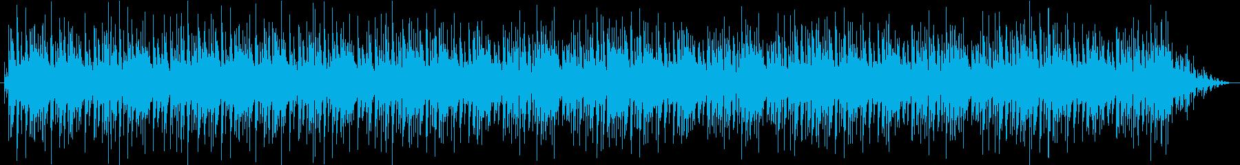 イージーゴーイングなロックンロールの再生済みの波形