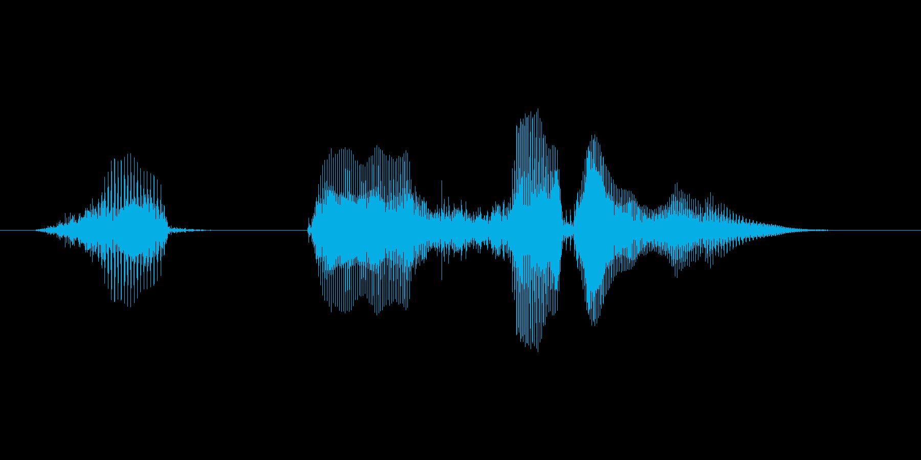 ハッピーハロウィン(落ち着いた男の子)の再生済みの波形
