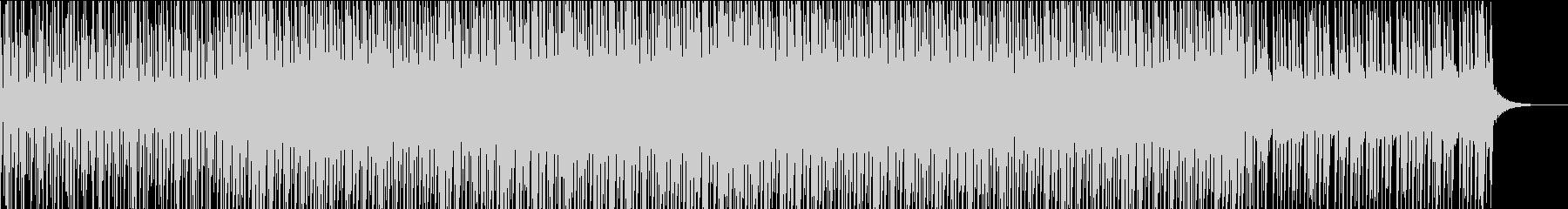 キラキラしたトロピカルハウスの未再生の波形