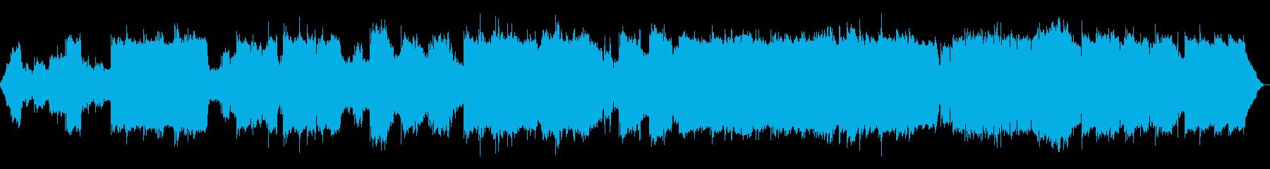 エレクトリックピアノのシンプルなメ...の再生済みの波形