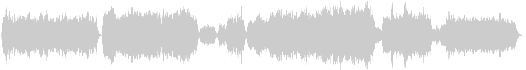 弦楽とパイプオルガンによる讃美歌風BGMの未再生の波形