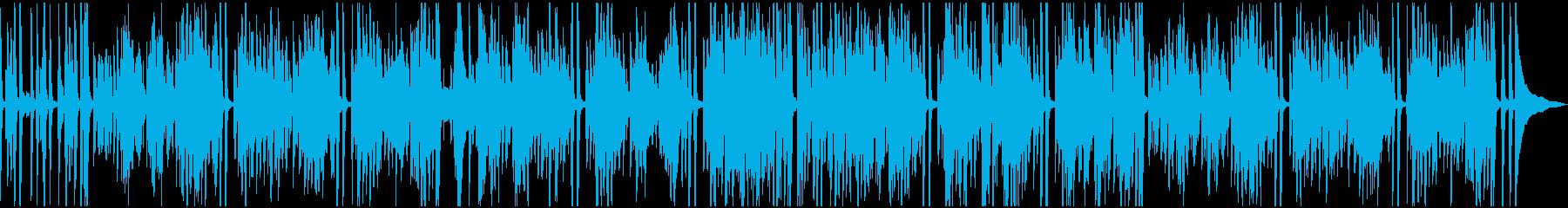伝統的なジャズ ビバップ レトロ ...の再生済みの波形