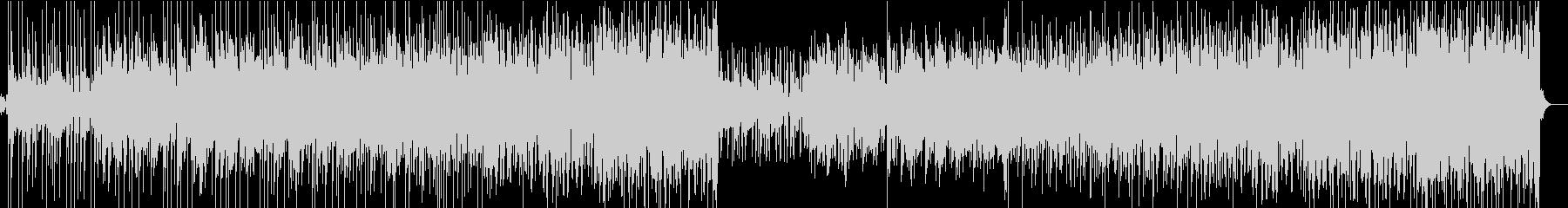 FunkyなRockの未再生の波形