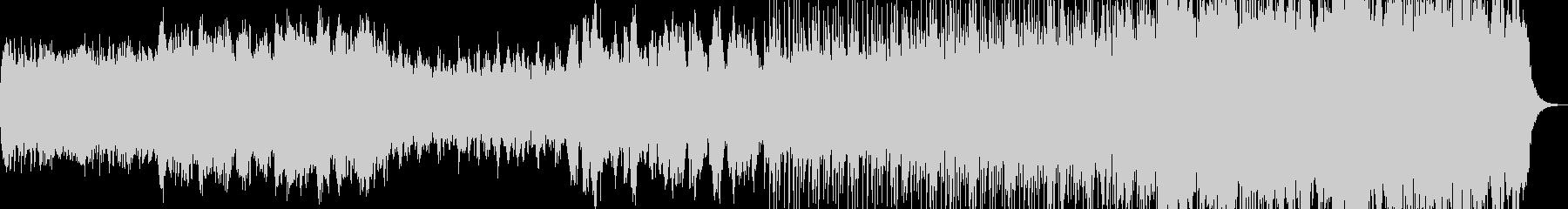 映像のためのバイオリンPOPの未再生の波形