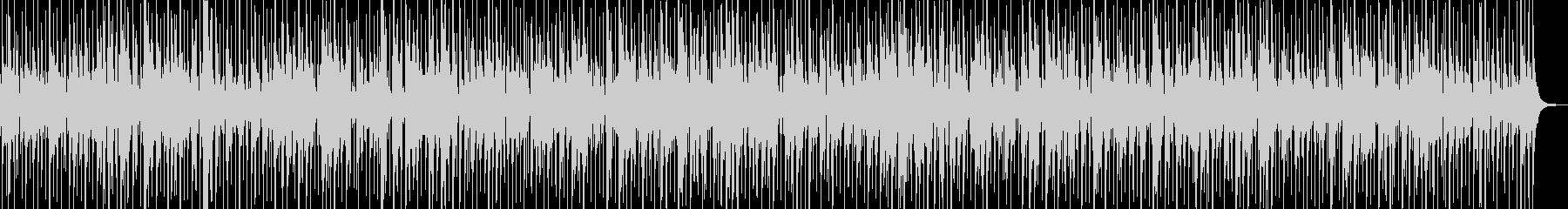 日常のコーヒーブレイクに合うジャズワルツの未再生の波形