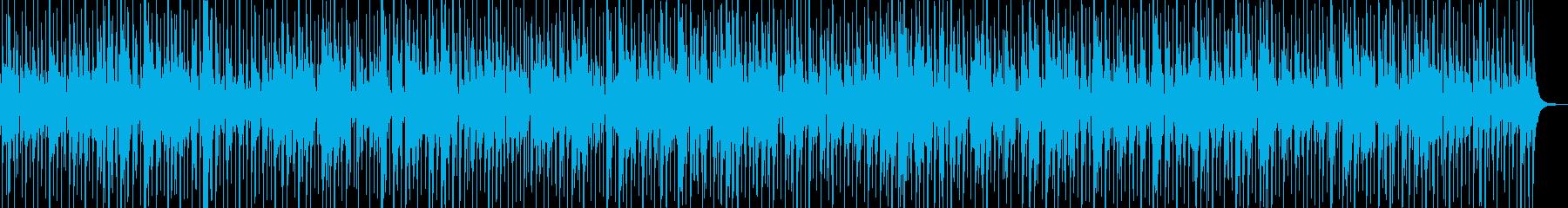 日常のコーヒーブレイクに合うジャズワルツの再生済みの波形