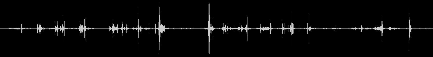 お金 コインビッグクラッターロング05の未再生の波形