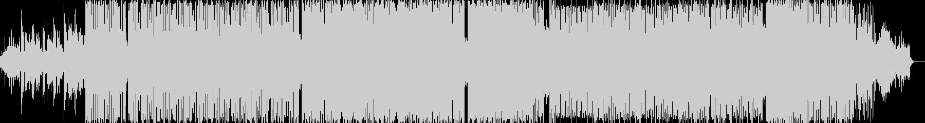 アナログリズムマシンがアクセントの曲の未再生の波形