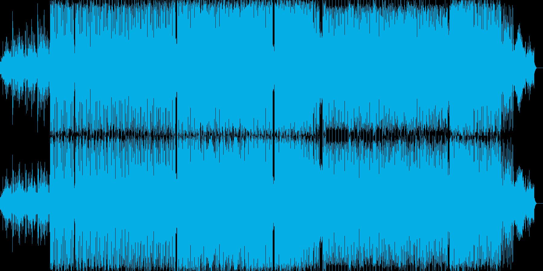 アナログリズムマシンがアクセントの曲の再生済みの波形
