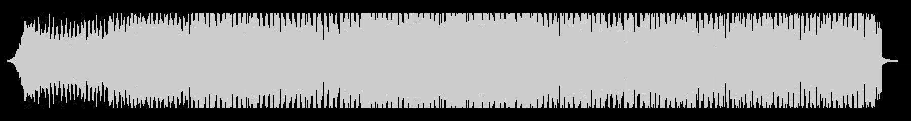 宇宙をイメージした重低音テクノトランスの未再生の波形