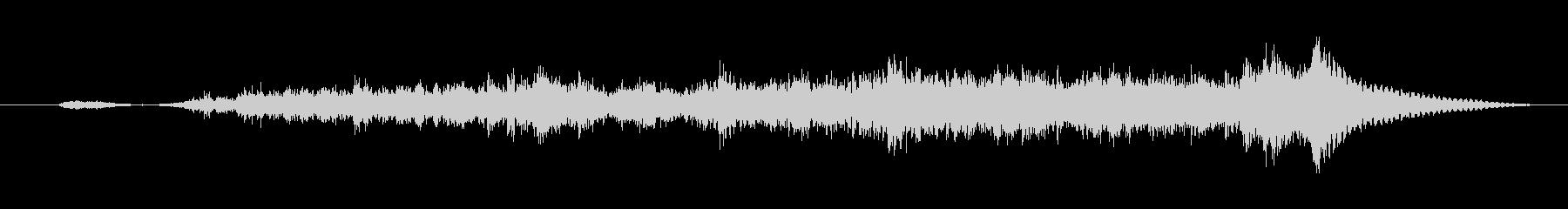剣 ブレードスクレープロング06の未再生の波形