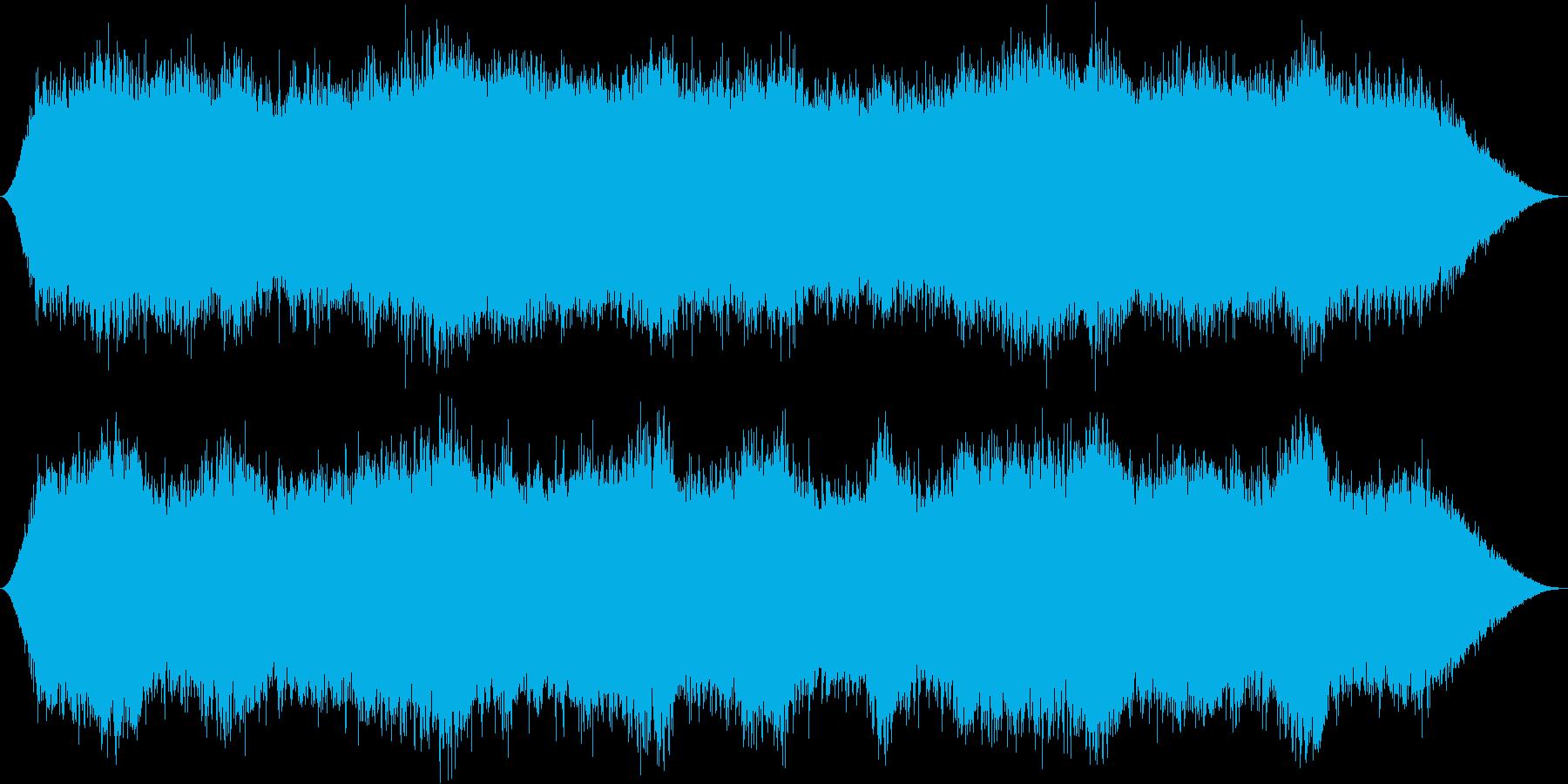 優雅な音楽が水の癒やし効果を引き立たせるの再生済みの波形
