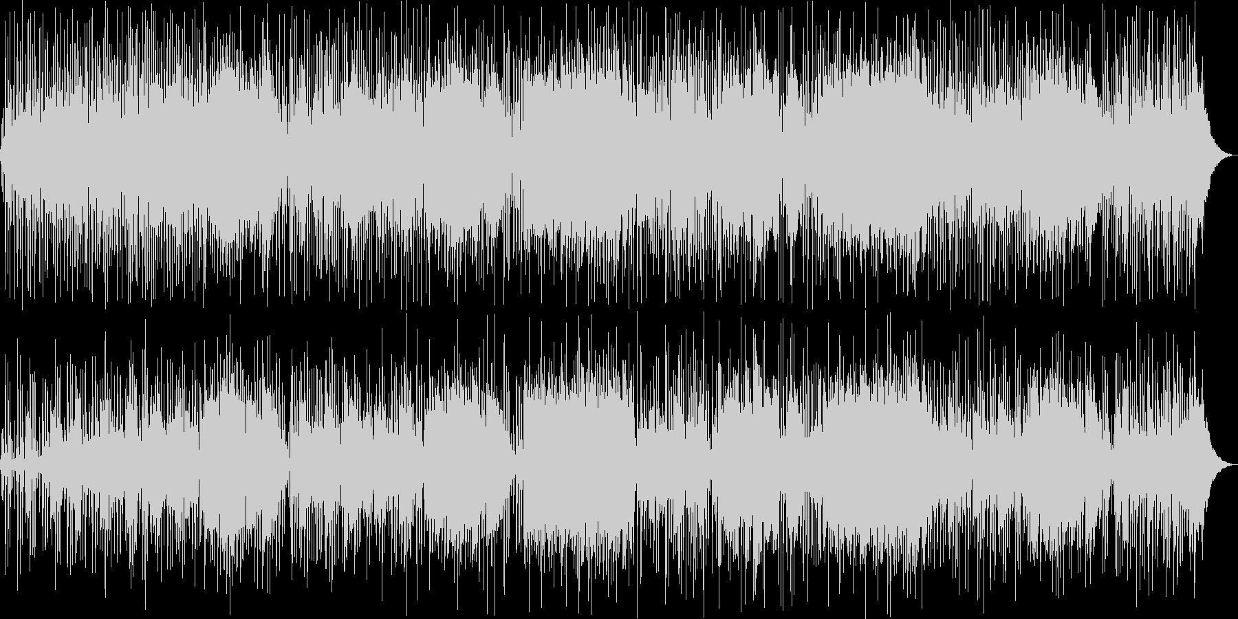 爽やかなギター・シンセサイザーサウンドの未再生の波形