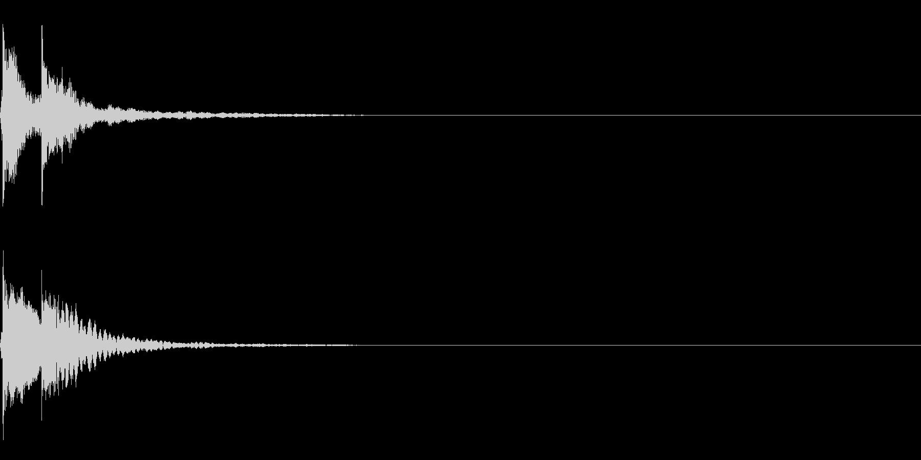 三味線/和風/システム音/A-4の未再生の波形