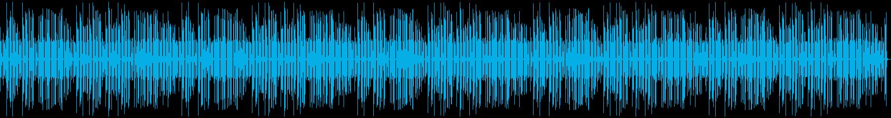 ゆるっとほのぼの日常、素朴な音色、10分の再生済みの波形