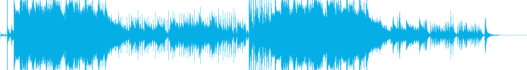 ピアノとストリングスのワルツ (雪の朝)の再生済みの波形