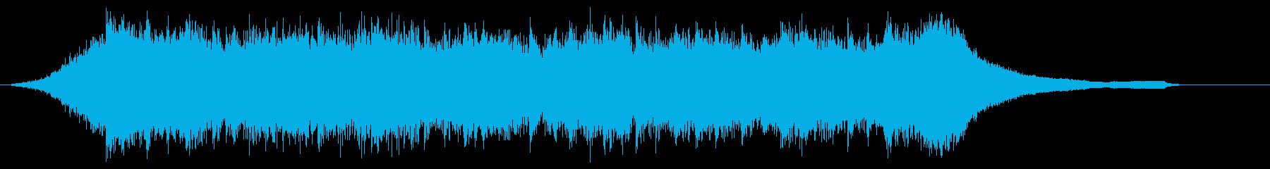 企業VP映像、105オーケストラ、爽快cの再生済みの波形