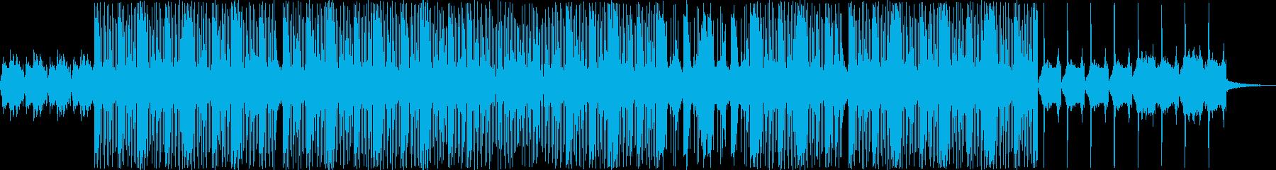 浮遊感のあるウワモノのトラップビートの再生済みの波形