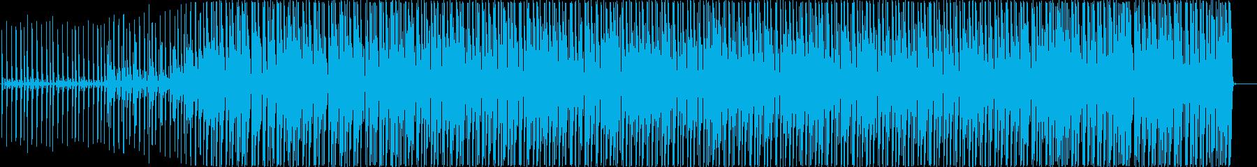 夏を感じさせるトロピカルハウスの再生済みの波形