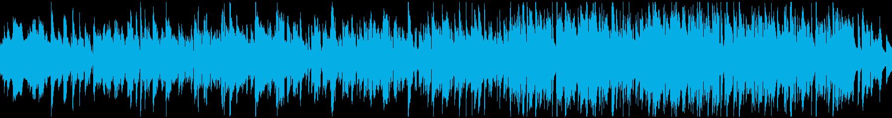 幸せな雰囲気の素敵ジャズワルツ※ループ版の再生済みの波形