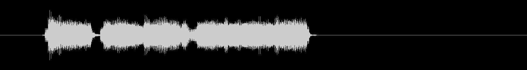 ギターロックフィナーレリズムバージョン2の未再生の波形
