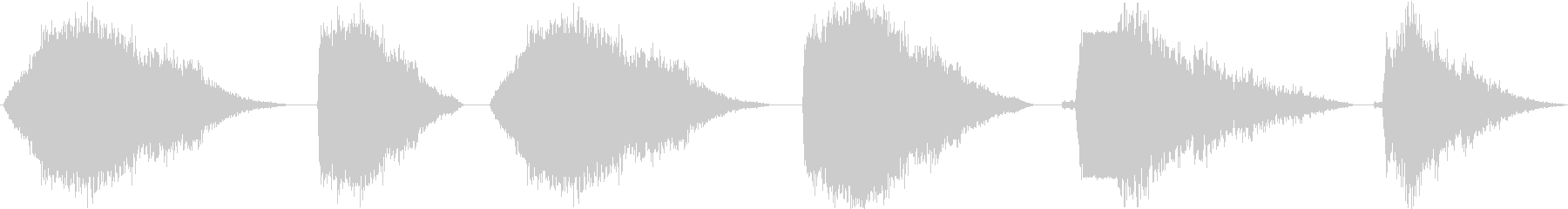 スペースレーザー分解ブラスト、6バ...の未再生の波形
