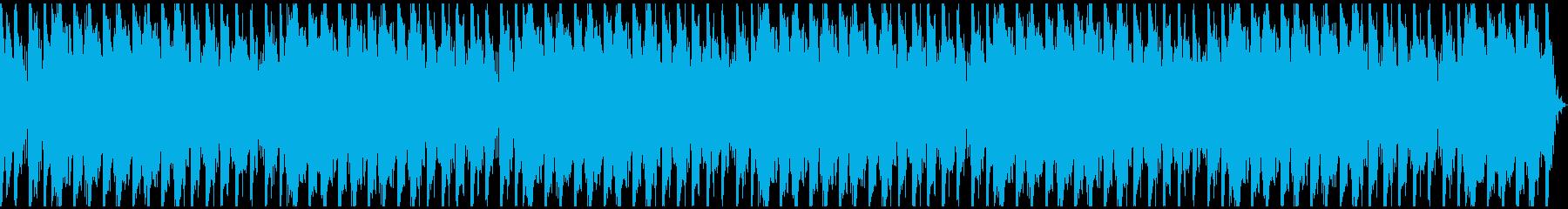 歪んだ音、不穏、SF、事件、ホラーLの再生済みの波形