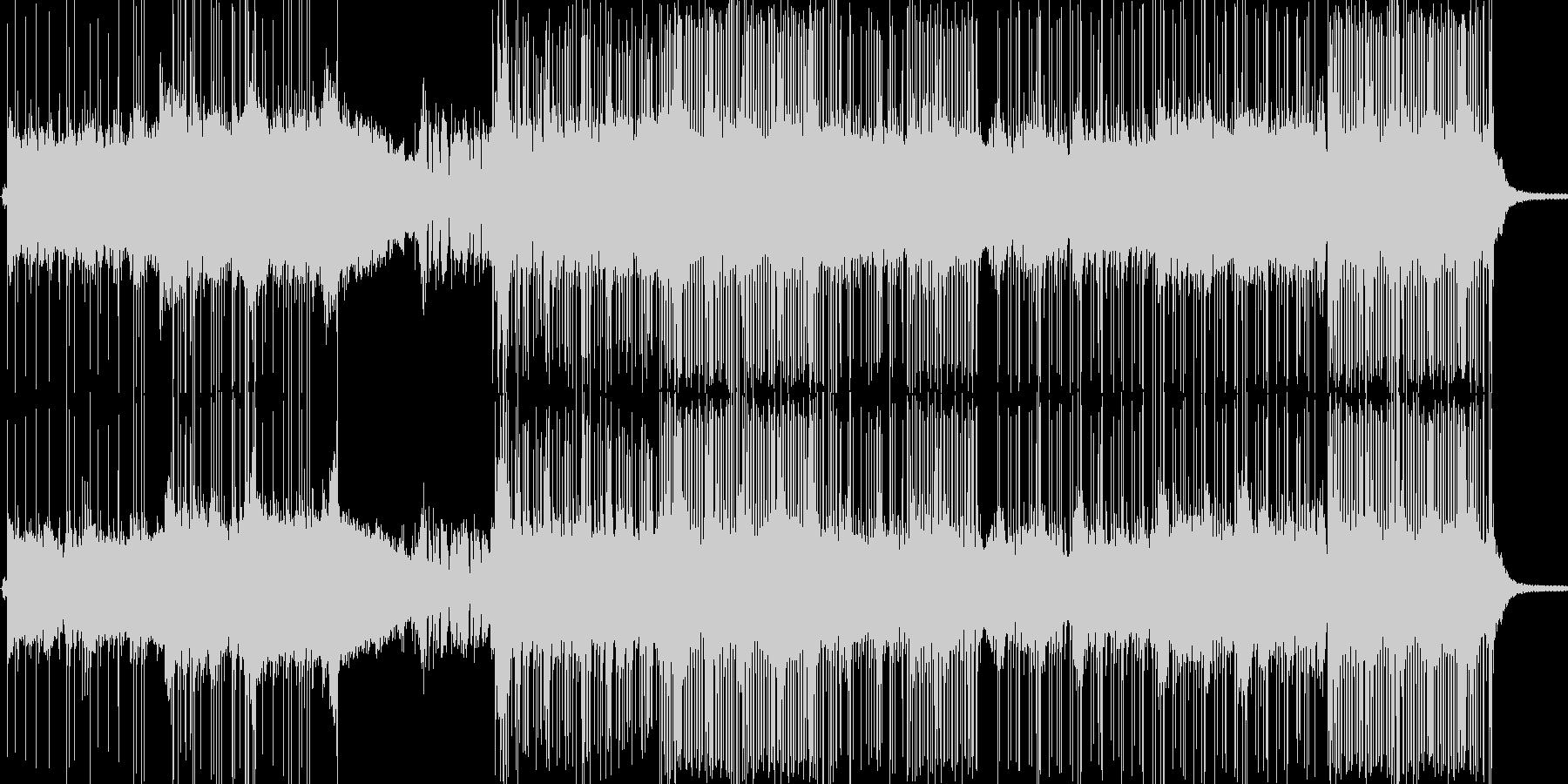 ギター控えめな和風ロック/メタルの未再生の波形