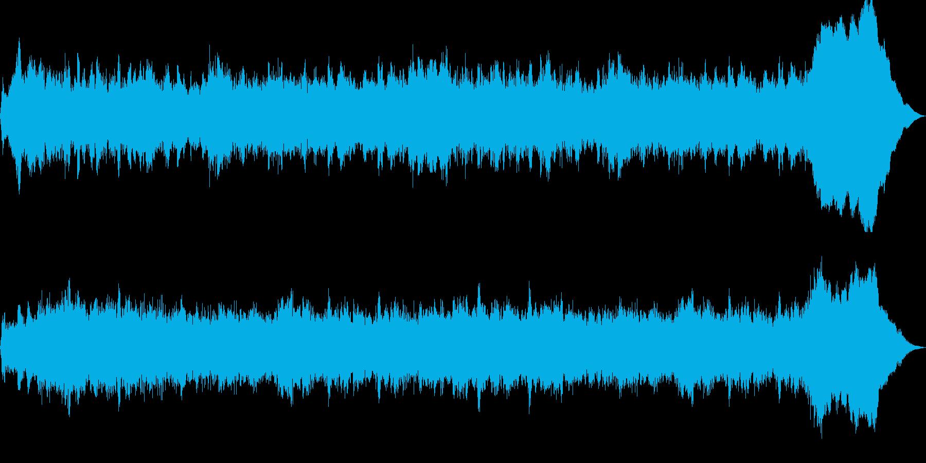 未来への不安のテーマ30秒BGMの再生済みの波形