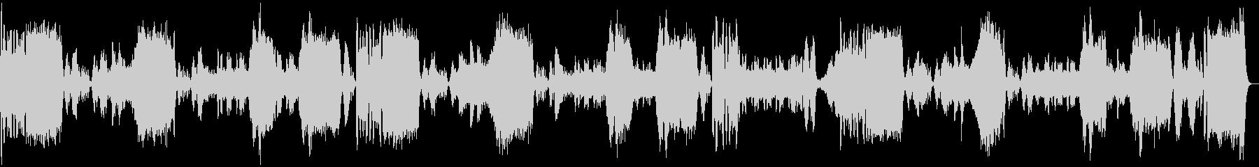 アイネ・クライネ・ナハトムジークの未再生の波形