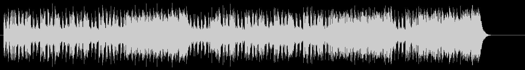 スリル感を高めるビートサウンドの未再生の波形