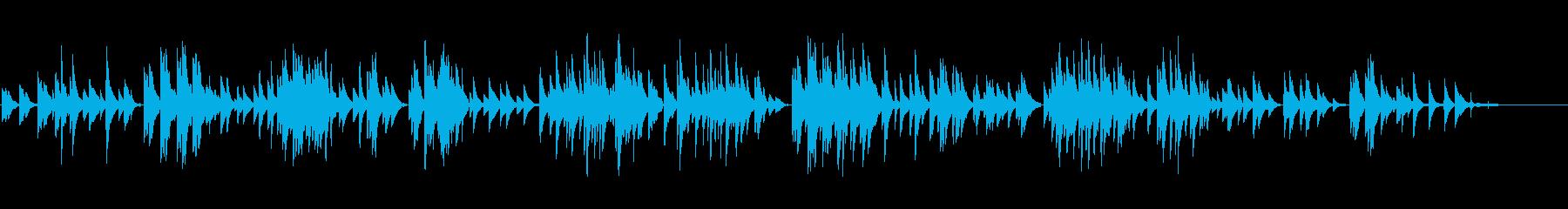 生ピアノソロ・栗のケーキの再生済みの波形