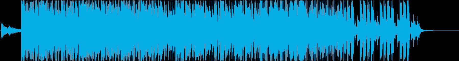 ヘヴィでダークな三味線和風ロック-短縮版の再生済みの波形