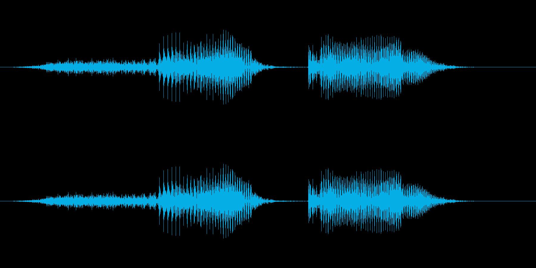 「正解!」子供クイズアプリ男性ボイスの再生済みの波形