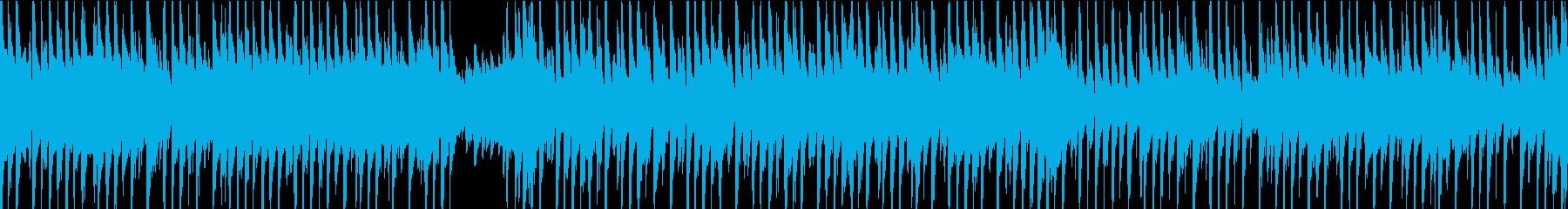 楽しくてアクション満載のレトロなビ...の再生済みの波形