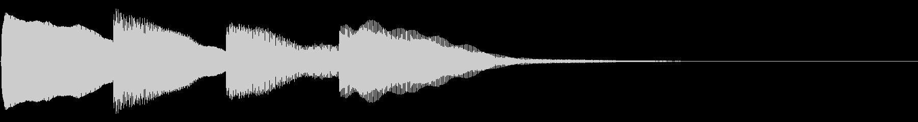 ピンポンパンポン01-3の未再生の波形