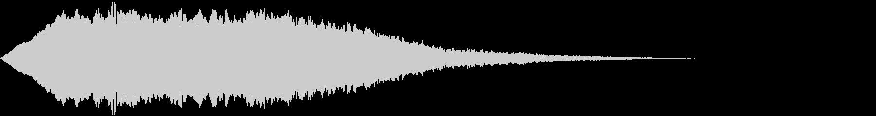 SFX ケミカルな昭和特撮風パッド 2の未再生の波形