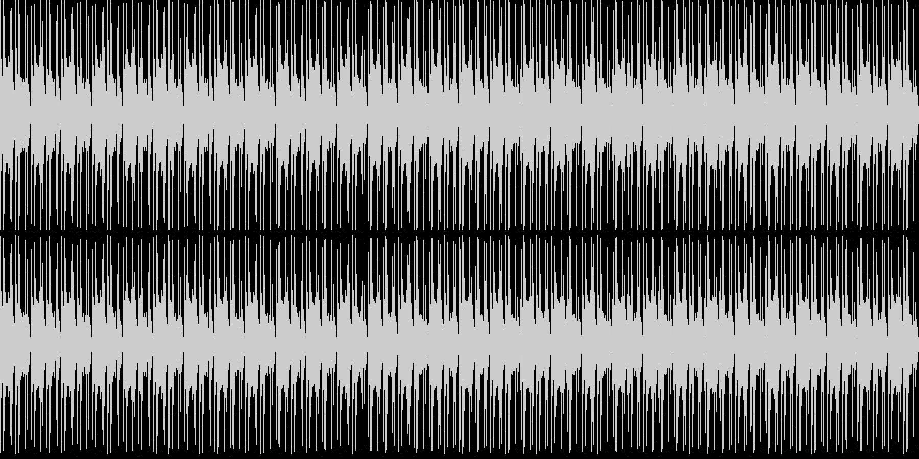 1、2、3、4の未再生の波形
