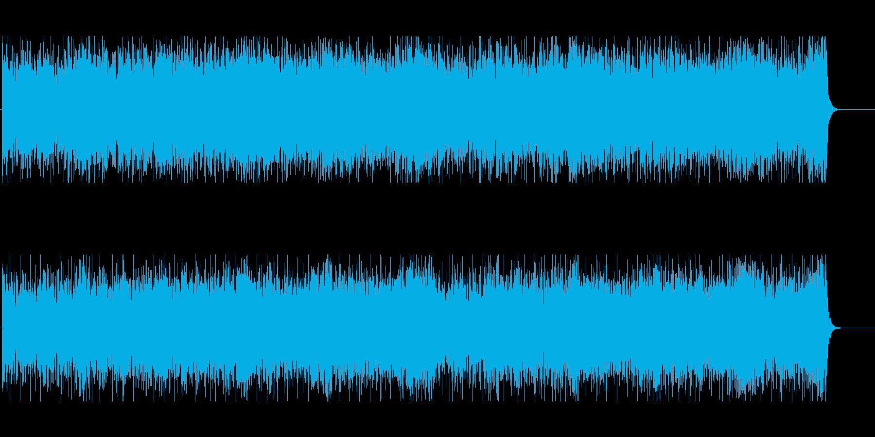 オープニング 情報 店内 CM PRの再生済みの波形