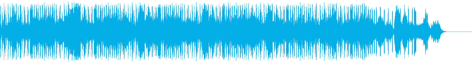 ストリングスとトランペットが印象的な曲の再生済みの波形