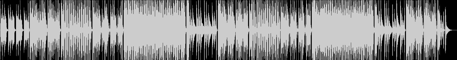 洋風民謡、おだやか/カラオケの未再生の波形