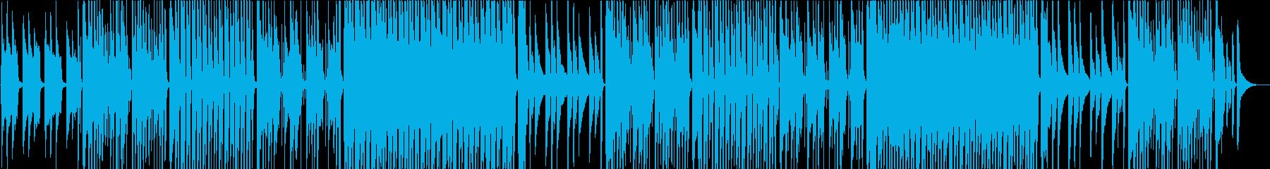 洋風民謡、おだやか/カラオケの再生済みの波形