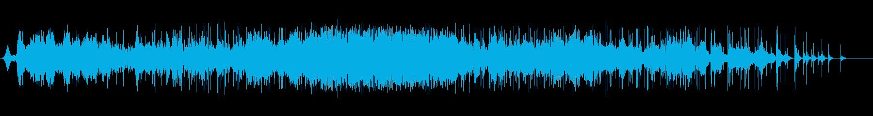 スモールスタジオオーディエンス:拍...の再生済みの波形