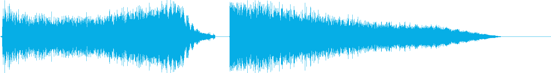 Super powerful beam's reproduced waveform