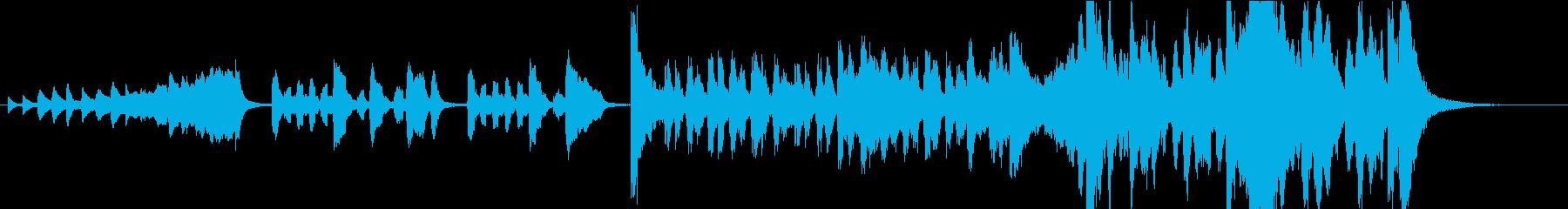 3段階の昇格を1つのジングルで表現の再生済みの波形